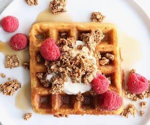 Waffles and berries   Via: Instagram