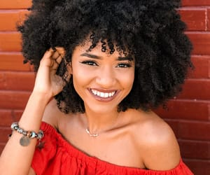 big hair, curls, and curly fro image