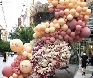 balloon, balloons, and beauty image