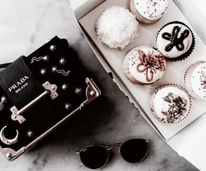 cupcake, food, and Prada image