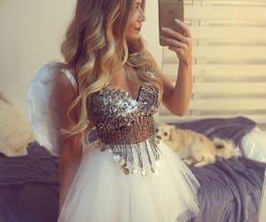 angel, costume, and Halloween image