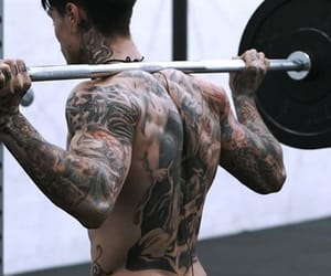 awesome, gym, and handsome image