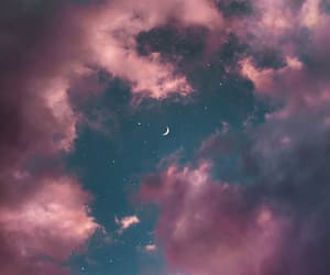 aesthetic, moon, and night image