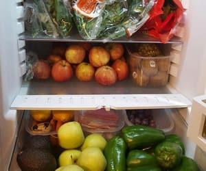 fitness, food, and fridge image