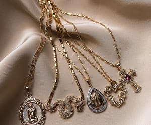 jewelry, chains, and necklace image