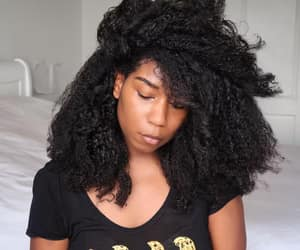 black women, healthy hair, and type 4 hair image