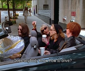sex and the city, drive, and funny image
