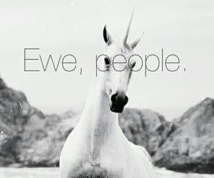 unicorn, people, and ewe image