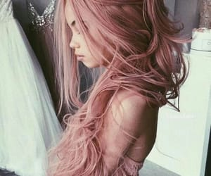 beautiful, girls, and pink image