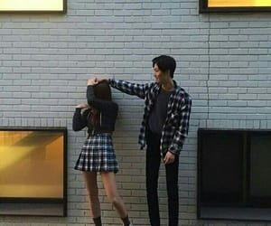 couple, ulzzang, and asian image