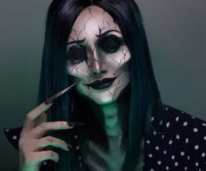 Halloween, coraline, and makeup image