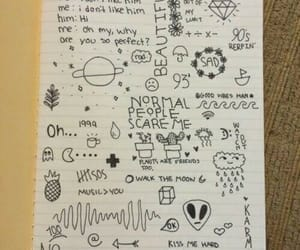 grunge, doodle, and draw image