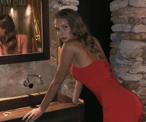 red, albanian, and model image