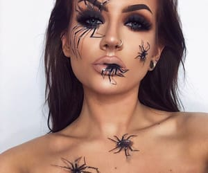 girl, icon, and spiders image