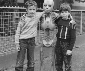 robot, boy, and kids image