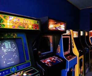80s, arcade, and game image