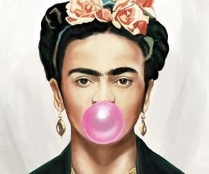 bubble gum, Frida, and chicle image