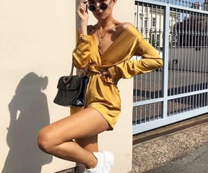 girl, fashion, and outfits image