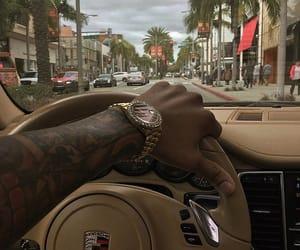 car, luxury, and man image