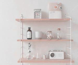 aesthetic, minimalist, and shelf image