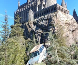 california, harry potter, and hogwarts image