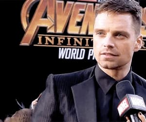 actor, sebastian stan, and Avengers image