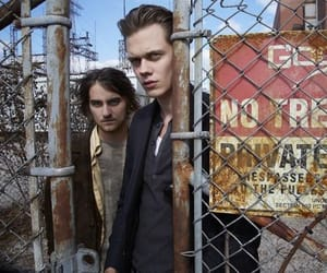 landon liboiron, bill skarsgård, and peter rumancek image