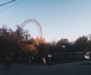 aesthetic, attraction, and ferris wheel image
