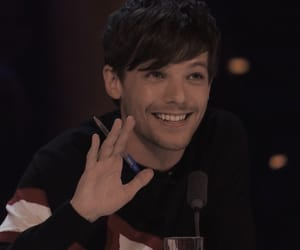 louis tomlinson, x factor, and one direction image