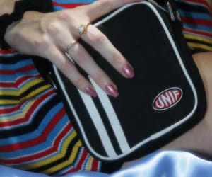 bags, stripes, and style image