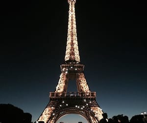 beautiful, eiffel tower, and fancy image