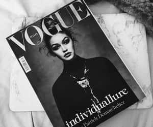 vogue, gigi hadid, and magazine image