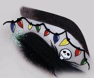 eyeshadow, Halloween, and makeup image