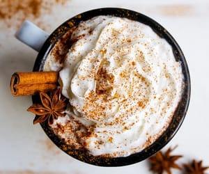 autumn, coffee, and Cinnamon image
