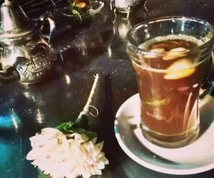 beautiful, happy, and tea image