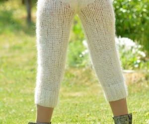 cosy, mohair, and outfit image