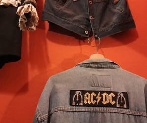 ac dc, hard rock, and red image