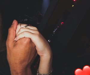 couples, holding hands, and love image