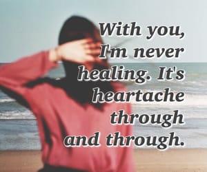 alternative, healing, and heartache image