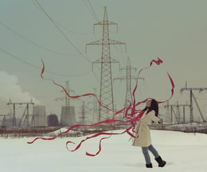 conceptual, freedom, and girl image