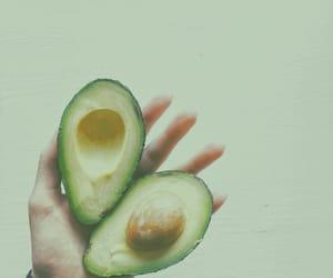 avocado, green, and minimalist image