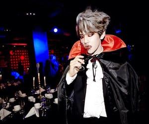 exo, Halloween, and byun baekhyun image