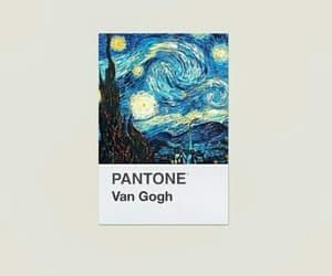art, pantone, and van gogh image