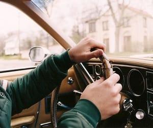 car, boy, and vintage image