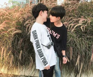 aesthetic, bl, and cute couple image