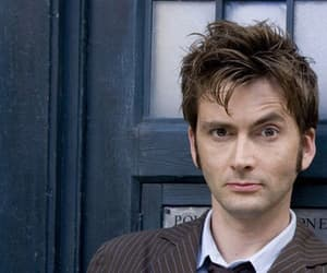 bbc, tardis, and david tennant image