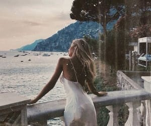 beautiful, girl, and italy image