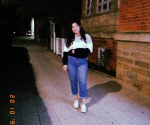 80s, jeans, and night out image