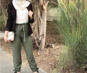 high waist pants, bow pants, and dressy pants image