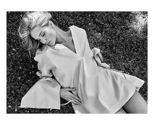 black & white and rosie huntington whiteley image